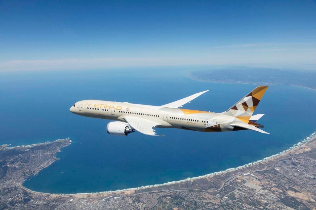 Etihad Airways Boeing 787-9 Dreamliner (Source: Etihad)