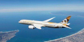 Etihad Airways Boeing 787-9 Dreamliner (Source: Etihad)