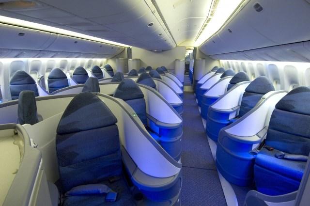 AIr Canada naar Toronto, Business