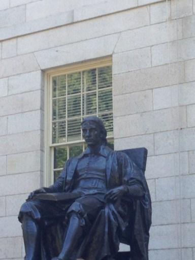 John Harvard, Harvard Yard