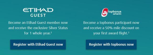 Etihad Silver status fasttrack