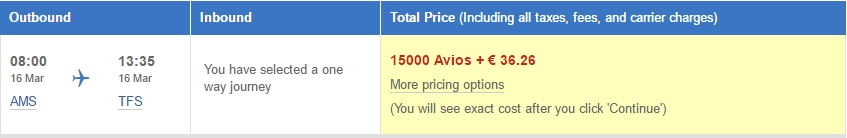 BA Executive Club - Iberia Express vluchten Avios & Money
