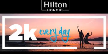 Hilton Honors 2K Everyday