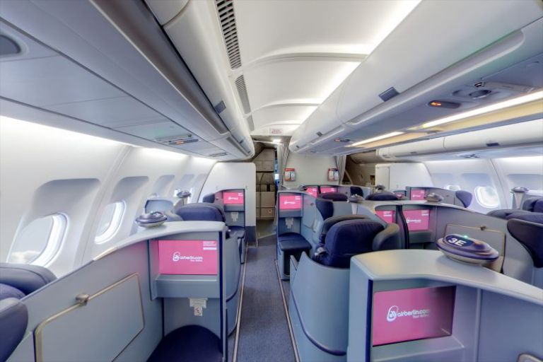 air berlin a330 business class