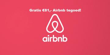 Airbnb gratis tegoed