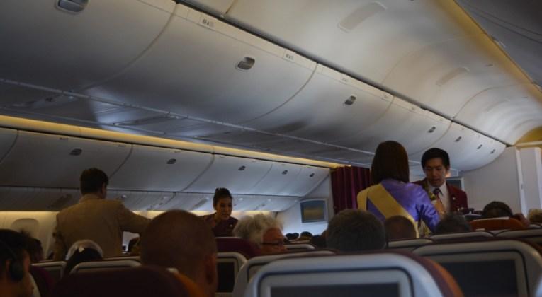 Thai Airways, Review, Brussel, Bangkok, Sydney, Economy Class