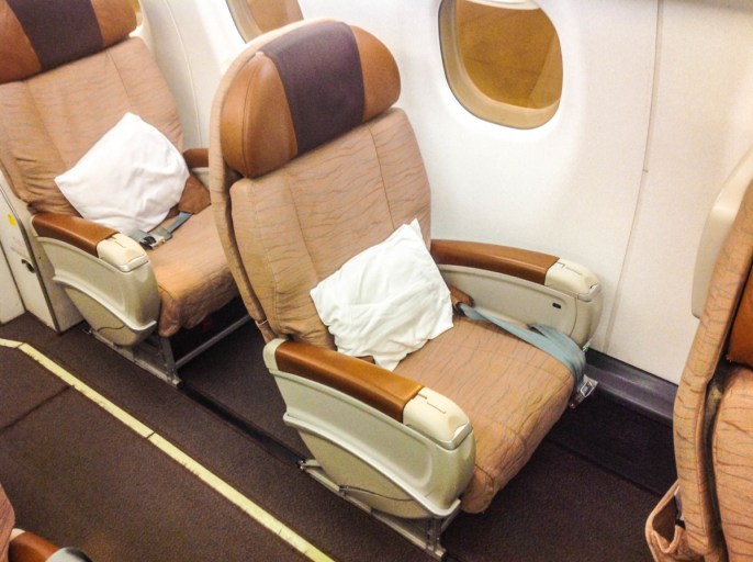 Oman Air, business class, embreat