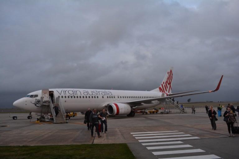 Sydney, Launceston, Virgin Australia, Review, Economy Class