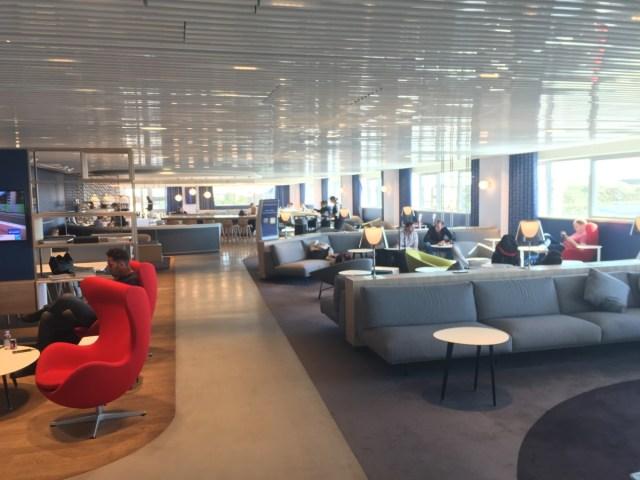 Air France lounge Charles de Gaulle 2G