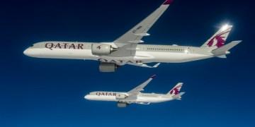 A350-1000 en A350-900 Qatar Airways