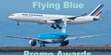 Flying Blue Promo Awards Maart 2018