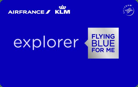 Flying Blue Explorer card new design