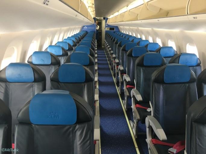 Review - Amsterdam - Hannover met KLM