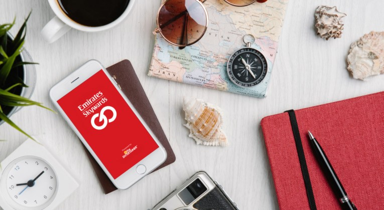 Emirates introduceert nieuwe Skywards GO App