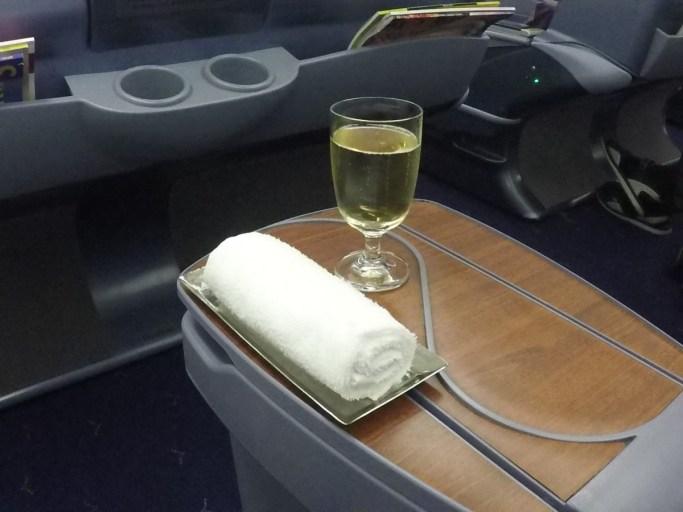 champagne, Thai airways, business class, a330