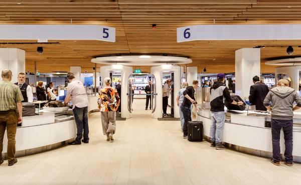 Centrale Security op Schiphol (Bron: Schiphol)