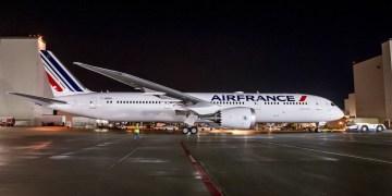 Air France ontvangt 7de Dreamliner