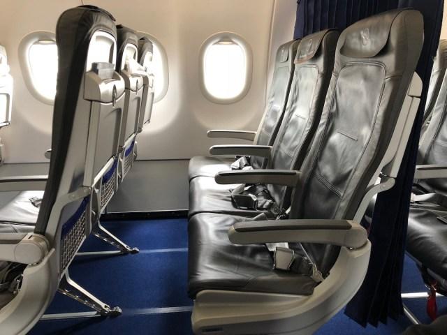 Lufthansa Business class op de A320