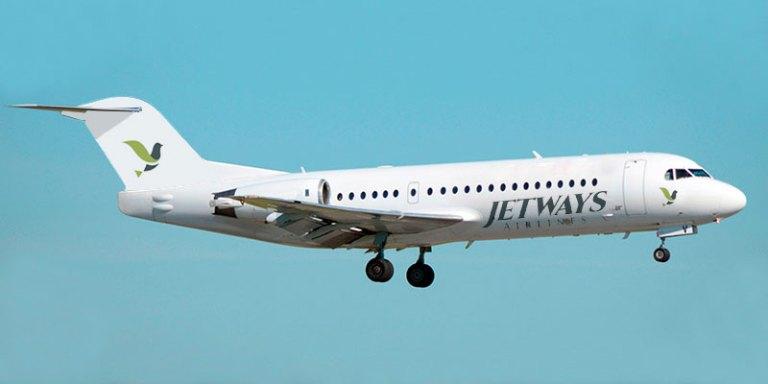 Fokker 70 Jetways Airlines in Kenya