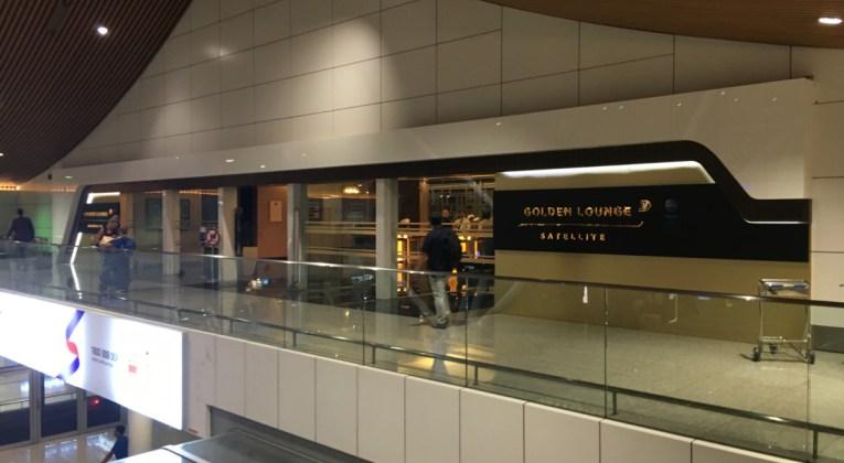 Review - Malaysia Golden Lounge Satellite Kuala Lumpur Airport