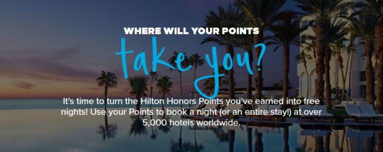 Hilton Points Explorer