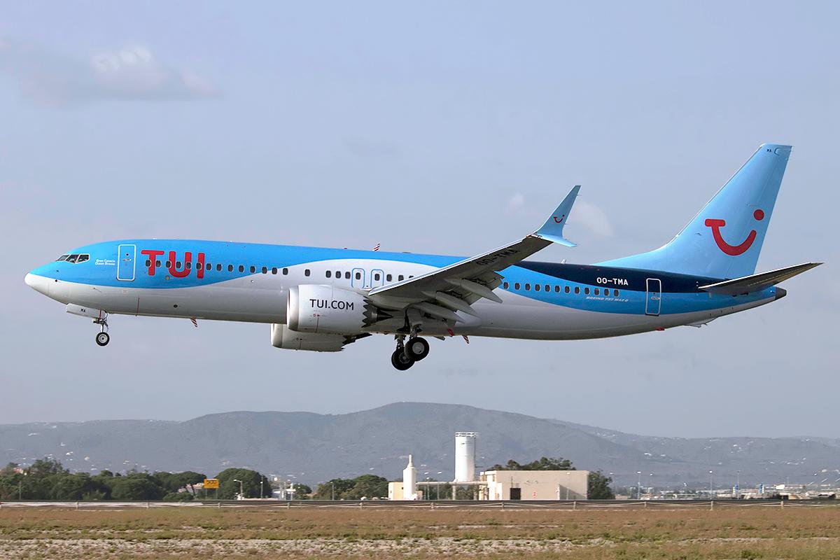 Boeing 737 MAX 9 van TUI (Bron: TUI)
