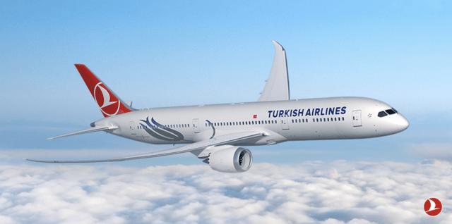 Boeing 787-900 Dreamliner van Turkish Airlines (Bron: Turkish Airlines)