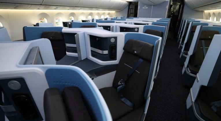 KLM Boeing 787-10 Dreamliner World Business Class
