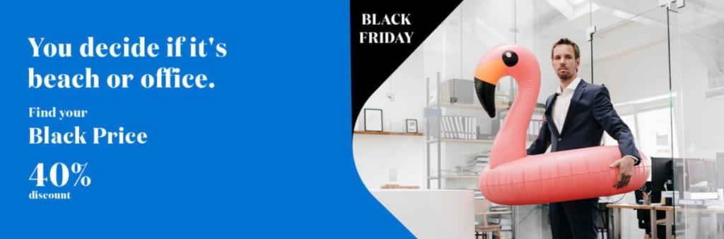 Ook Air Europa doet mee met Black Friday (Bron: Air Europa)