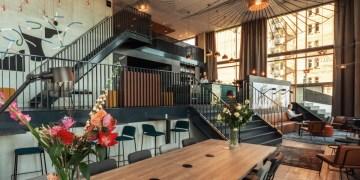 the niu Fender Amsterdam Lobby