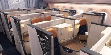 Aeroflot A350 business class cabine