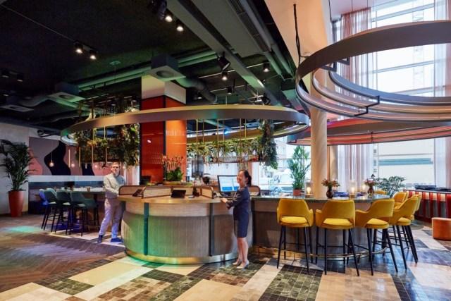 Linder Hotel Antwerp - lobby
