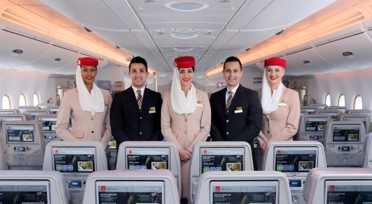 Emirates wint de titel World's Leading Cabin Crew 2019