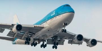 KLM Boeing 747 City of Seoul