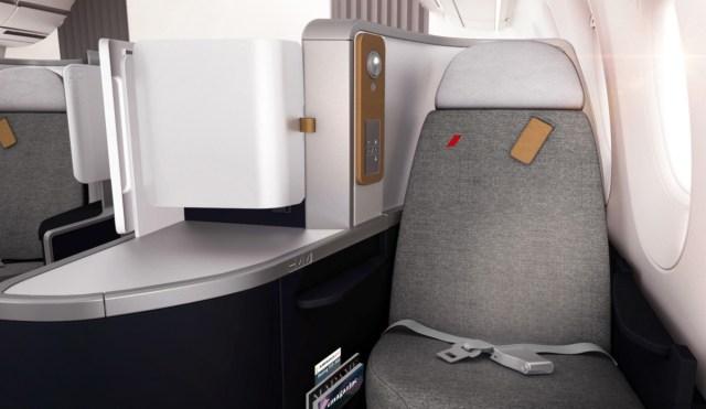 Nieuwe Business Class cabine aan boord van de Air France Boeing 777-300 (Bron: Air France)