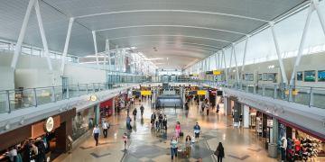 JFK International Airport Terminal 4 flink op de schop