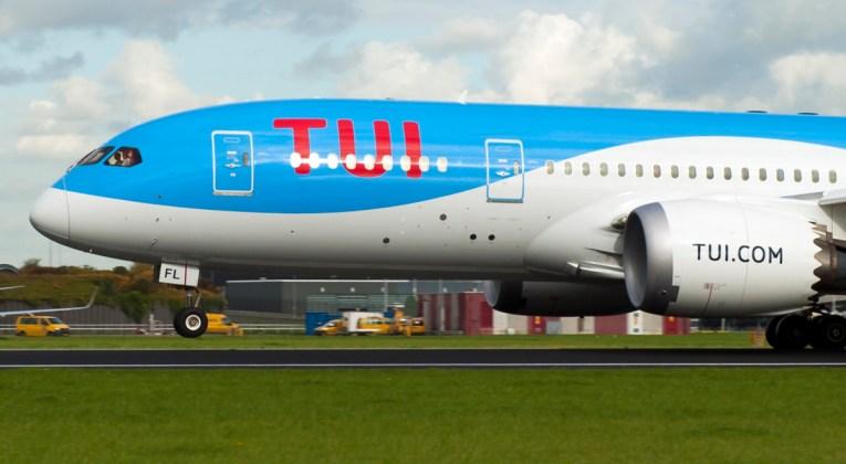 De Boeing 787 Dreamliner van TUI (Bron: TUI)