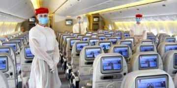 Emirates neemt maatregelen aan boord