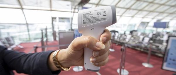 Na maskers nu ook temperatuurcheck bij Air France