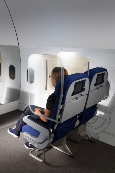 Is Social Distancing mogelijk in het vliegtuig?