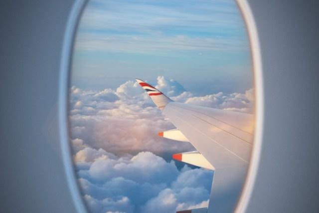 Uitzicht uit het raam van de Airbus A350 van British Airways (Bron: British Airways)