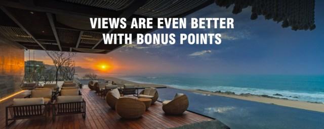 Marriott Bonvoy sparen bonus punten bij overnachting