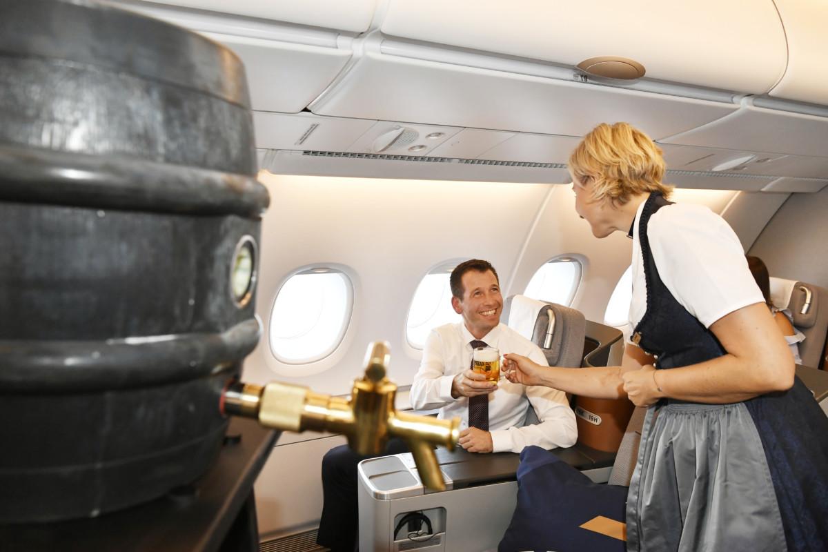 Lufthansa houdt Oktoberfest in ere, ook tijdens Corona