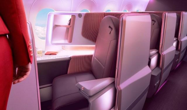 Virgin Atantic Upper Class cabine (Bron: Virgin Atlantic)