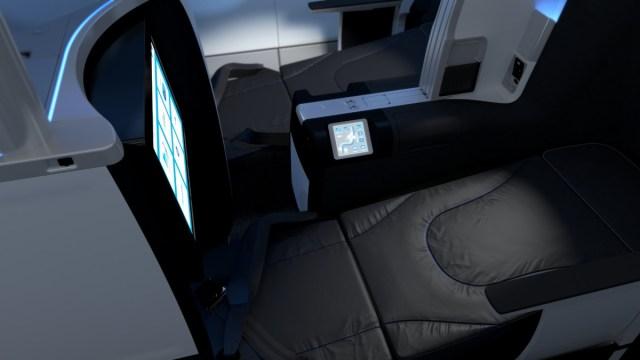 Mint, de Business Class cabine van JetBlue (Bron: JetBlue)
