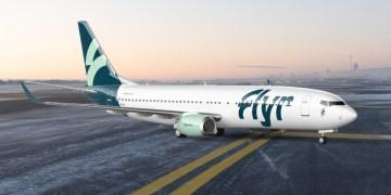 Boeing 737-800 van Flyr (Bron: Flyer)