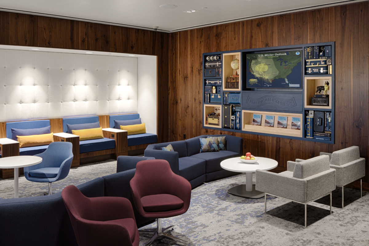 American Express Centurion Lounge in Phoenix (Bron: American Express)