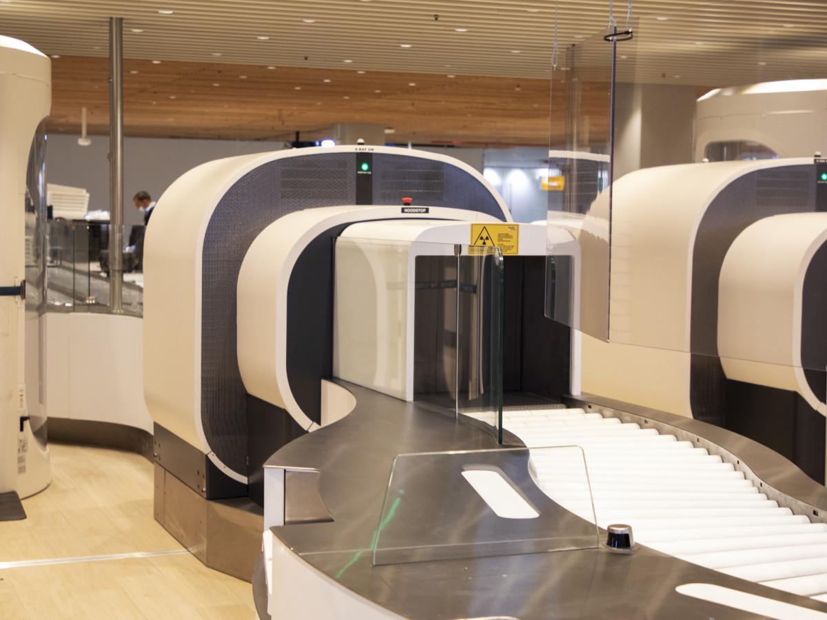 De nieuwste CT-scanners op Schiphol (Bron: Schiphol)