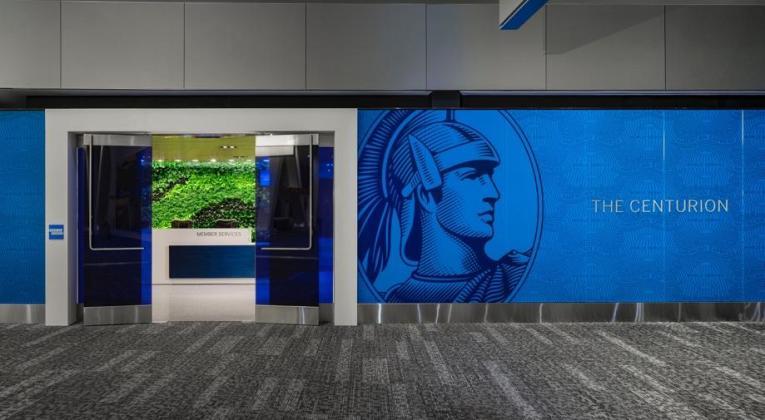 American Express Centurion Lounge op de luchthaven van New York LaGuardia (Bron: American Express)