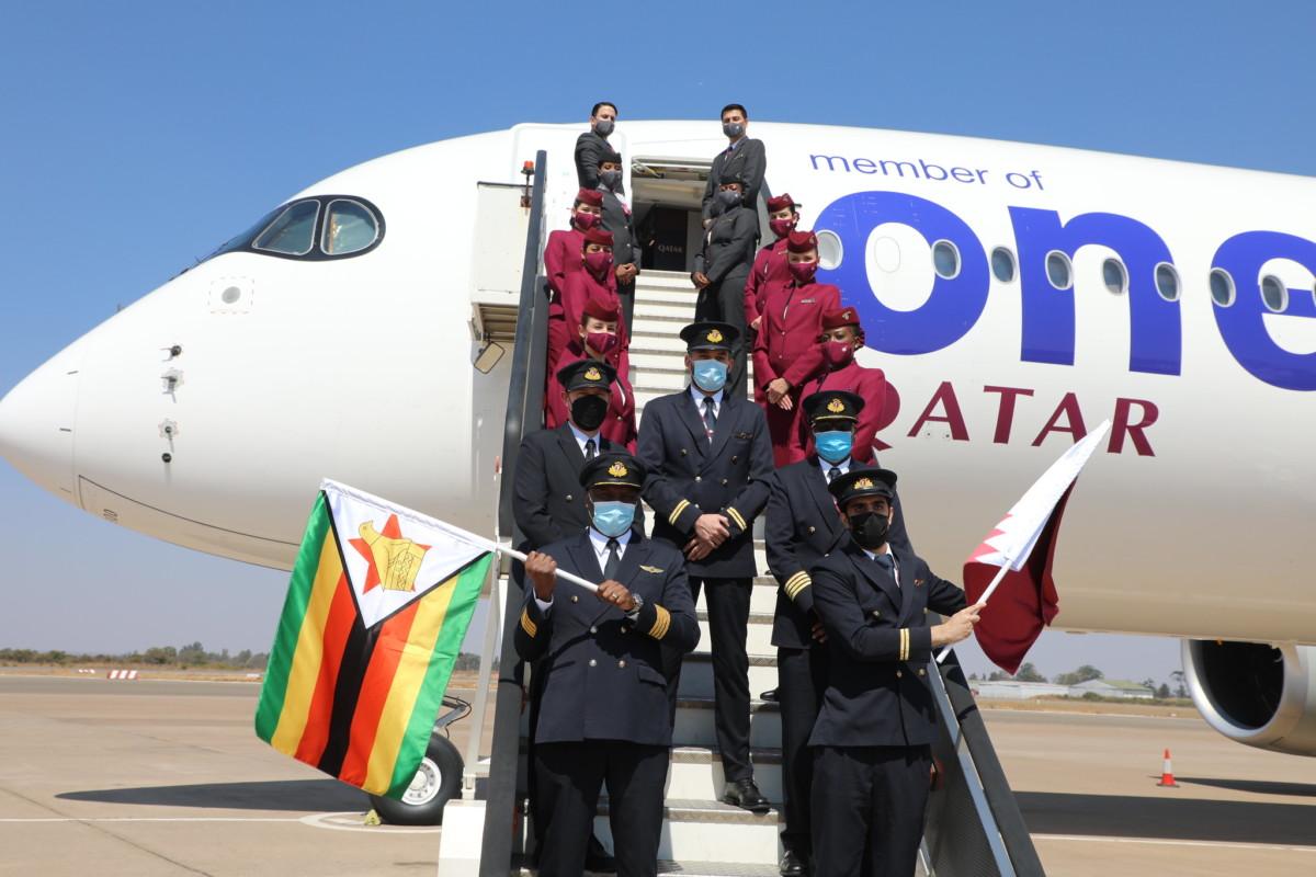 Qatar Airways wordt verwelkomd in Rwanda (Bron: Qatar Airways)